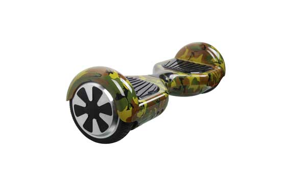 hoverboard militaire camouflage